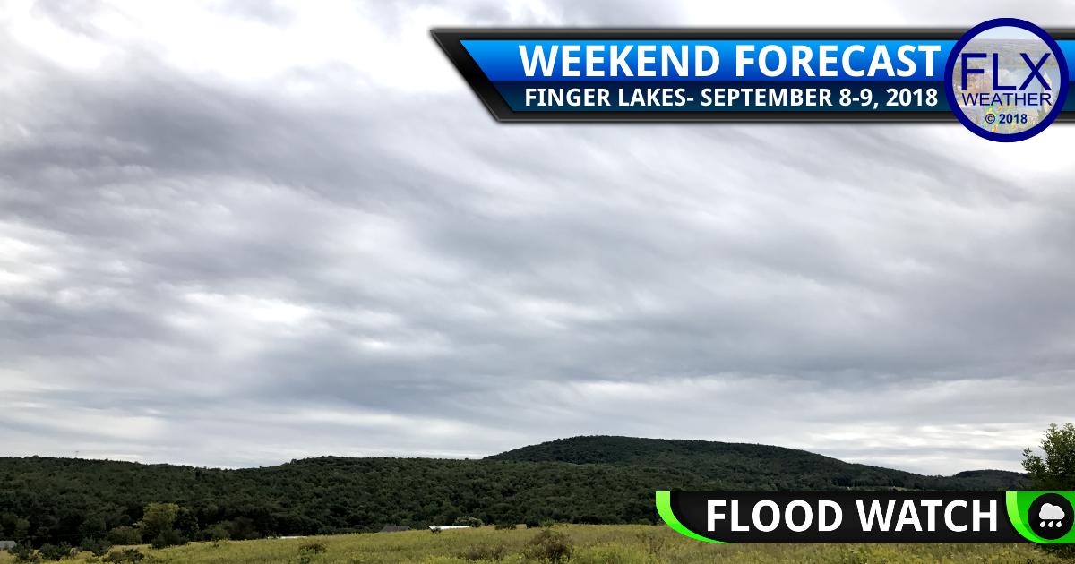 finger lakes weather forecast heavy rain sunday september 9 2018 monday september 10 2018 hurricane florence key messages