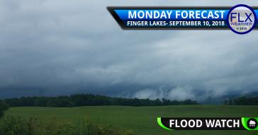 finger lakes weather forecast monday september 10 2018 rain wind flood watch