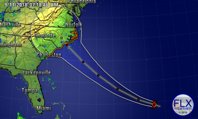 finger lakes weather hurricane florence track