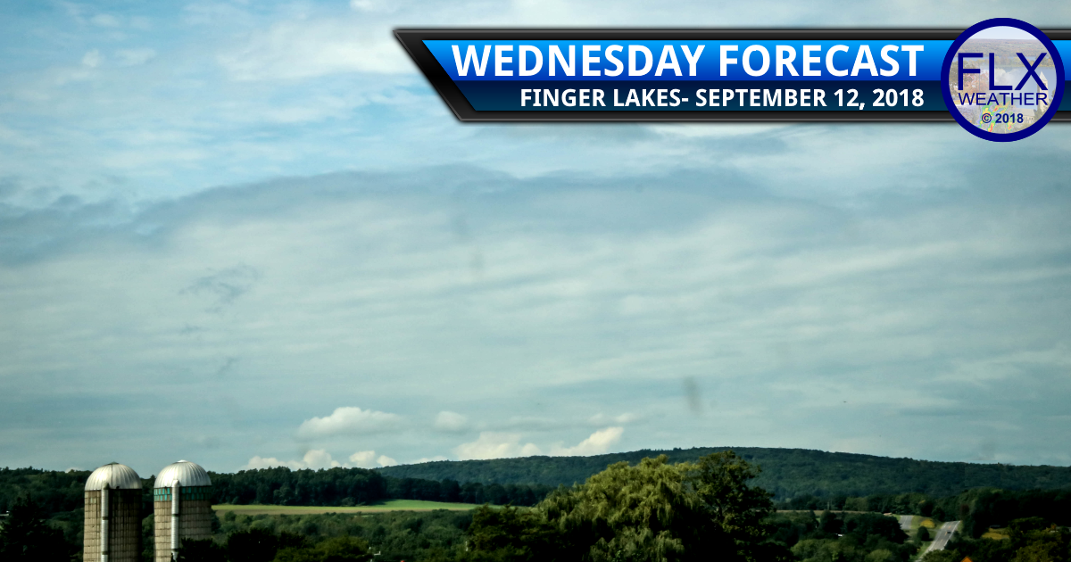finger lakes weather forecast wednesday september 12 2018 fog sun clouds