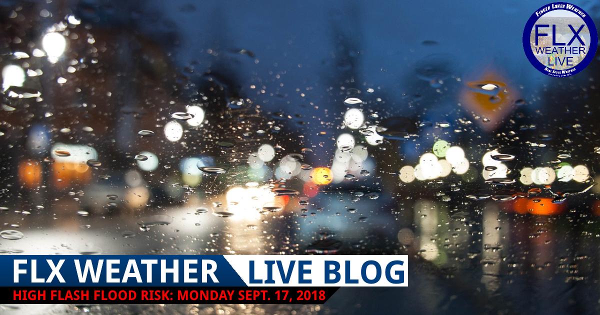 finger lakes weather forecast monday september 17 2018 flash flood live weather updates