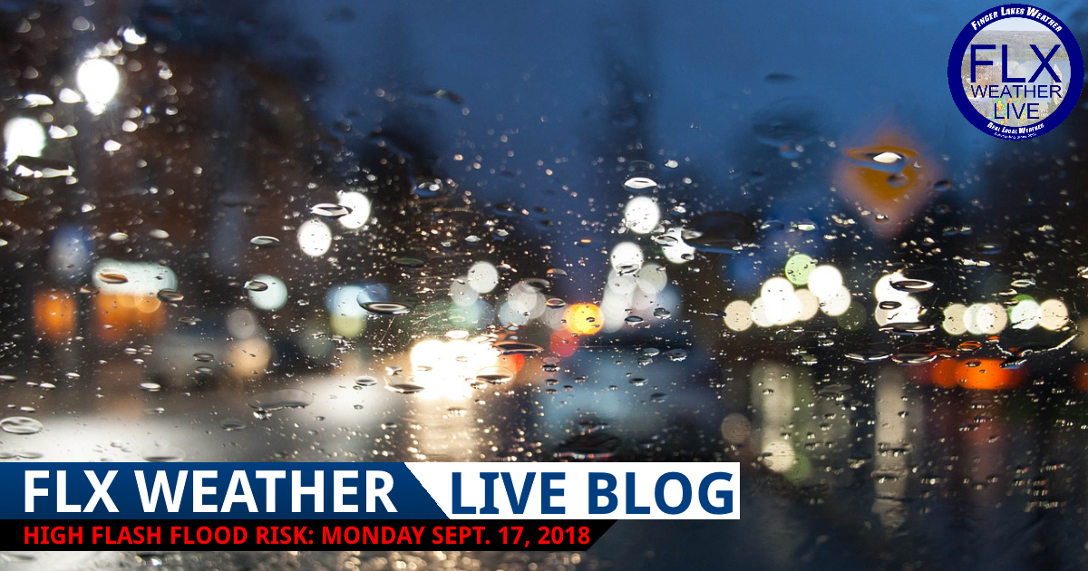 finger lakes weather forecast monday september 17 2018 flash flood live weather updates