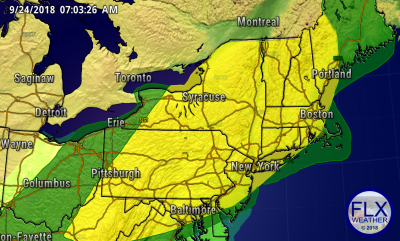 finger lakes weather storm prediction center day 3 risk map