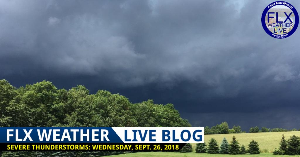 finger lakes weather live blog severe thunderstorms damaging winds wednesday september 26 2018
