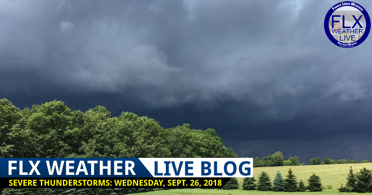 finger lakes weather live blog severe thunderstorms damaging winds wednesday september 26 2018