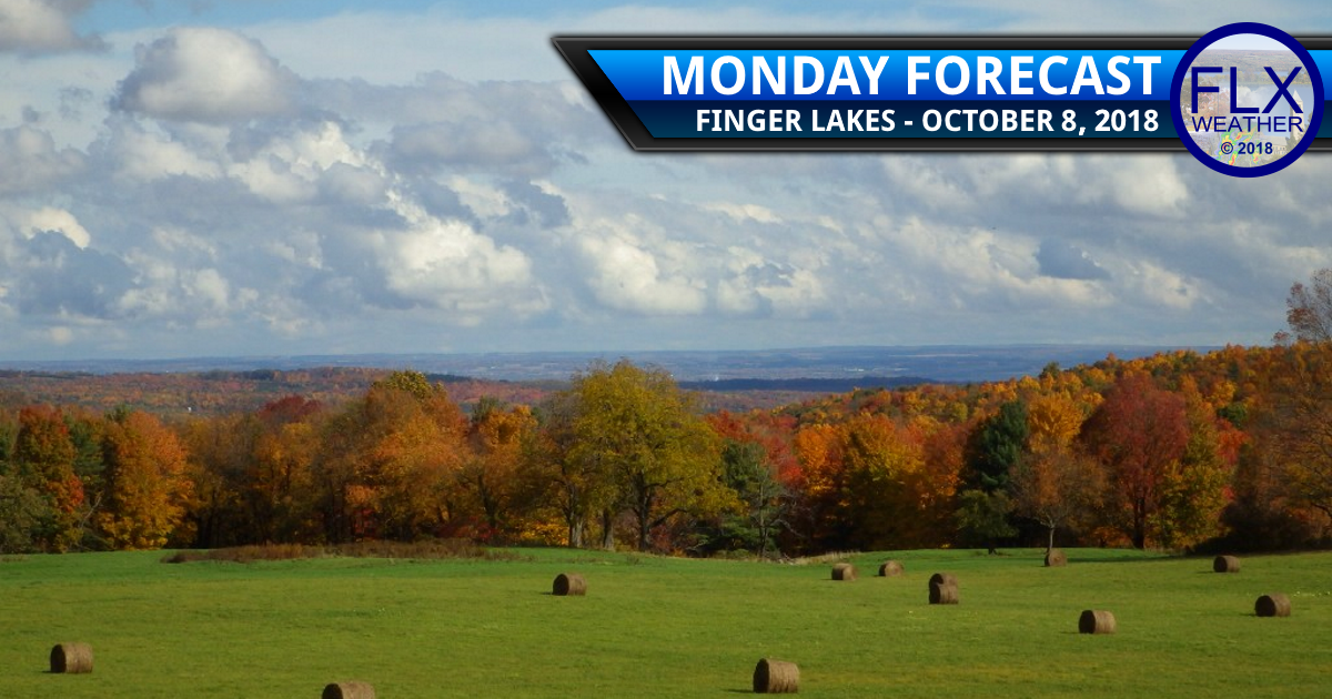 finger lakes weather forecast monday october 8 2018 warm above normal temperatures