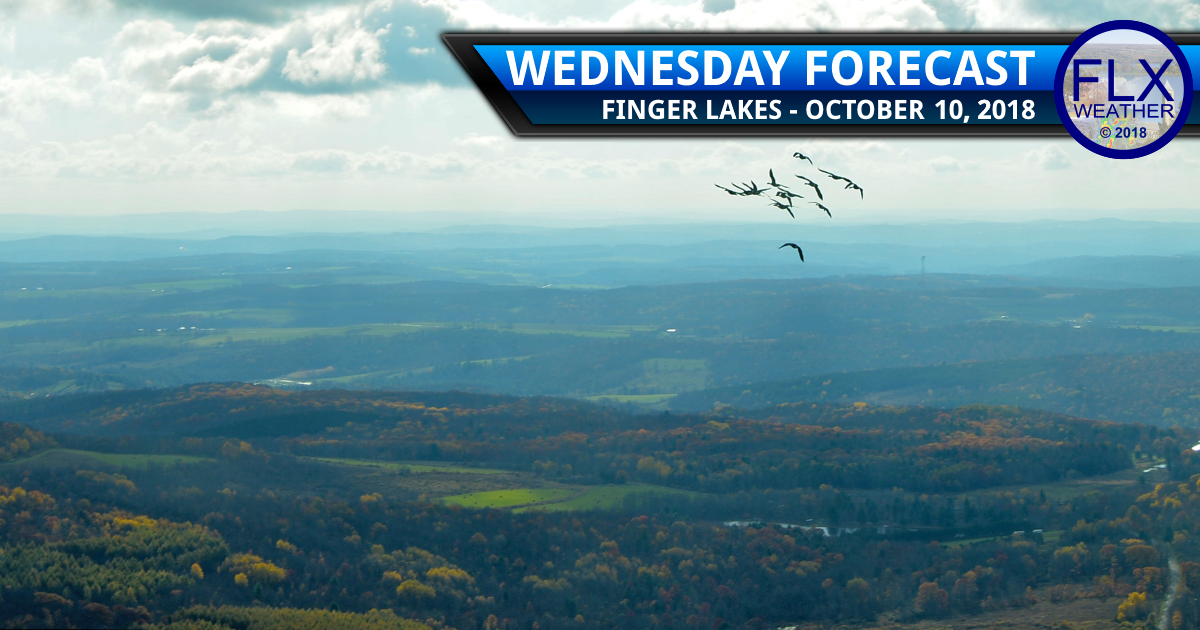 finger lakes weather forecast wednesday october 10 2018 warm cold front
