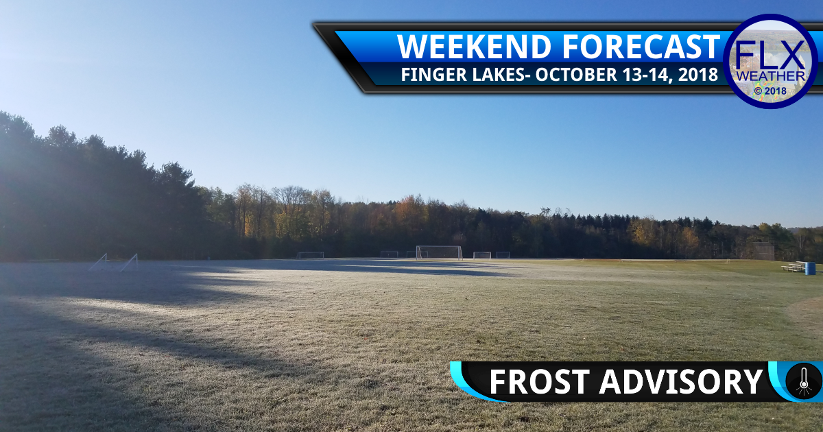 finger lakes weather forecast weekend saturday october 13 2018 sunday october 14 2018 frost advisory