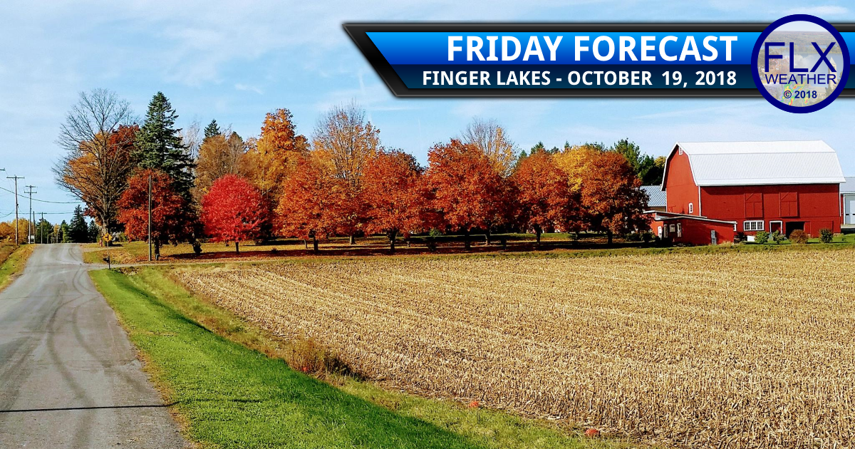 finger lakes weather forecast friday october 19 2018 sun wind warm above normal temperatures weekend weather cold front rain lake effect snow