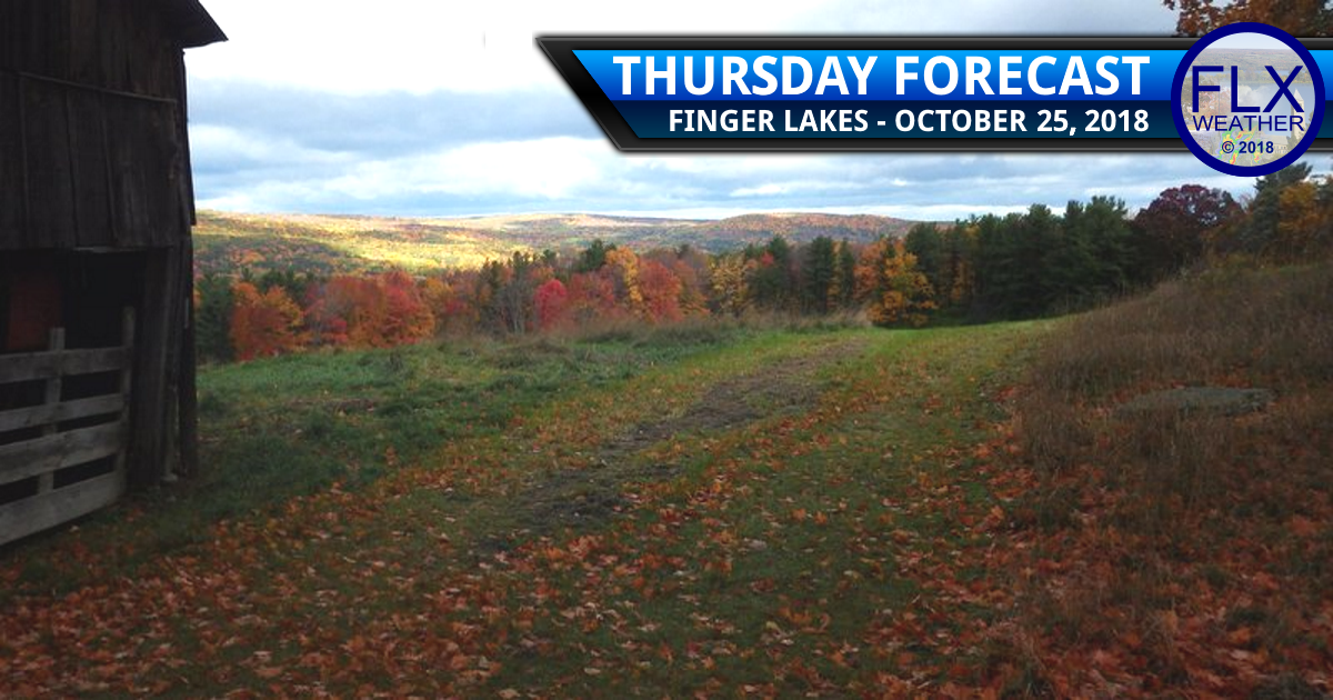 finger lakes weather forecast thursday october 25 2018 weekend noreaster