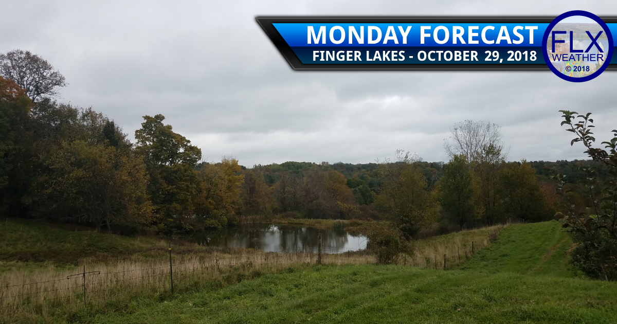 finger lakes weather forecast weekly outlook rain clouds temperatures warm halloween forecast