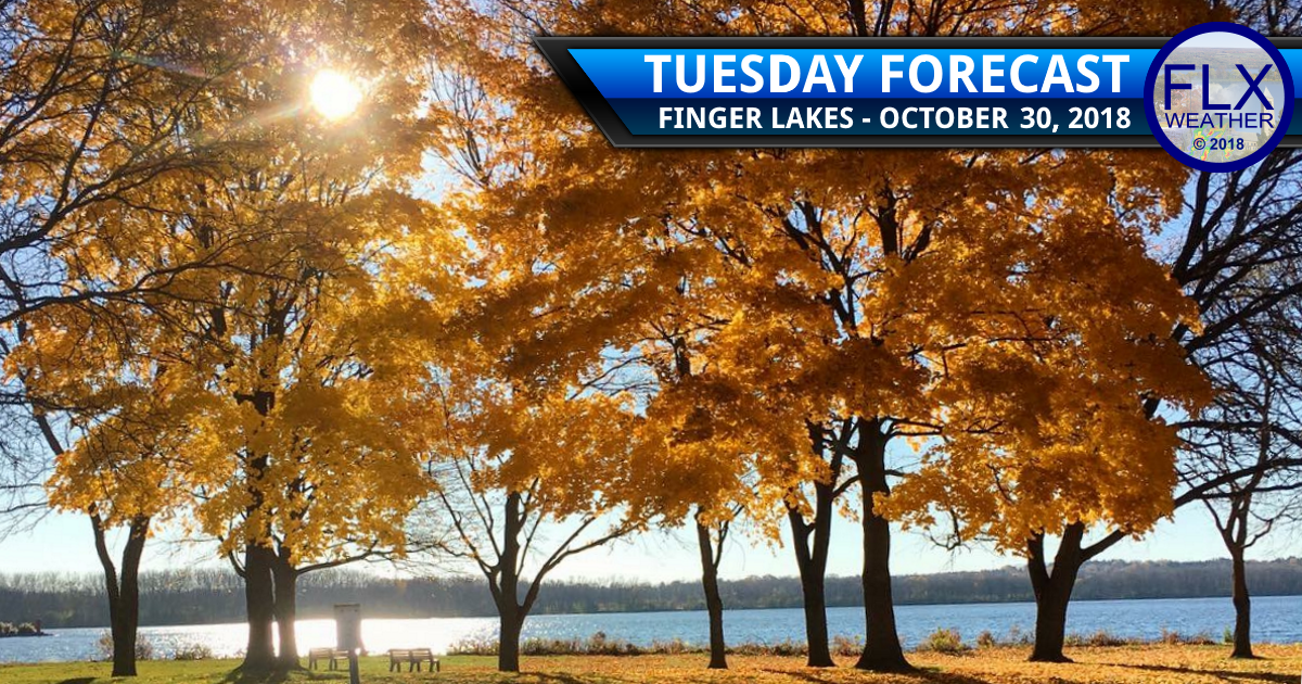 finger lakes weather forecast tuesday october 30 2018 sunny clear skies halloween rain