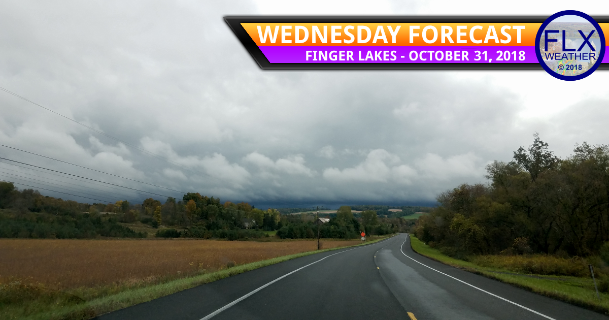 finger lakes weather halloween trick-or-treat forecast wednedsay october 31 2018