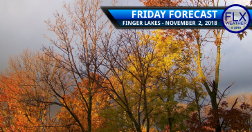 finger lakes weather forecast friday november 2 2018 temperature low pressure showers