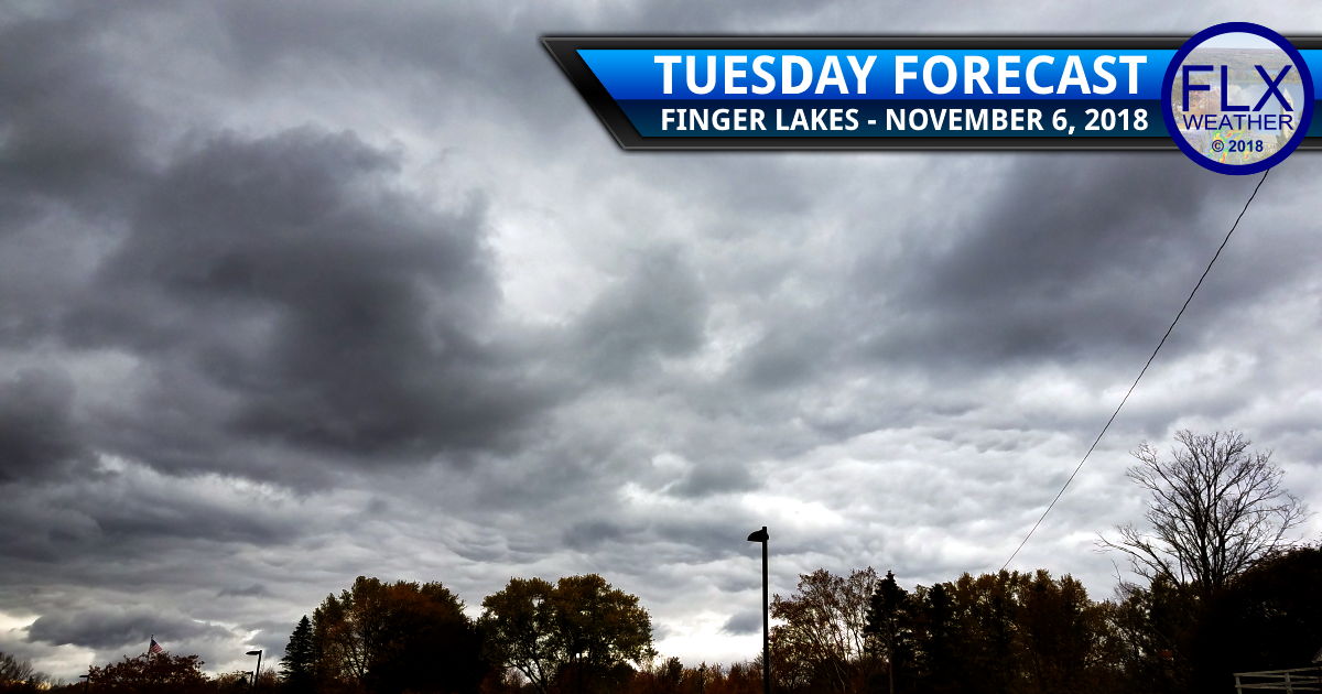 finger lakes weather forecast tuesday november 6 2018 election day wind rain temperatures