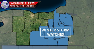 finger lakes weather winter storm watch map