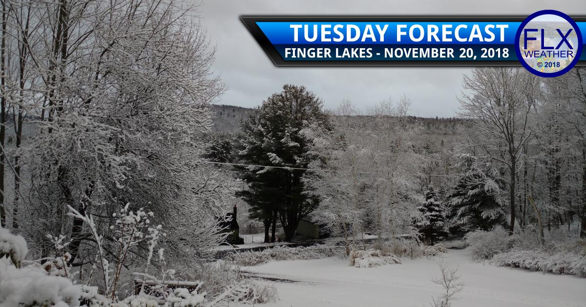 finger lakes weather forecast tuesday november 20 2018 wednesday november 21 2018 snow squalls thanksgiving travel