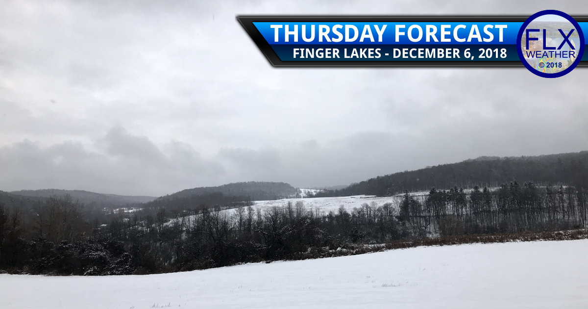 finger lakes weather forecast thursday december 6 2018 snow lake effect squall