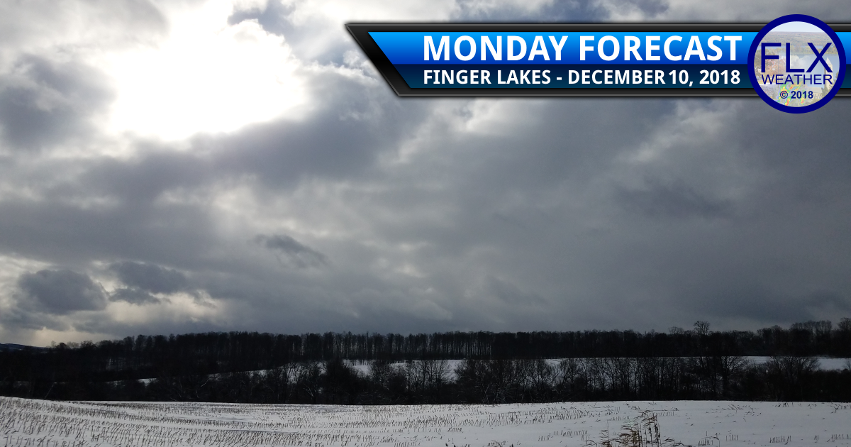 finger lakes weather forecast monday december 10 2018 clouds sun snow