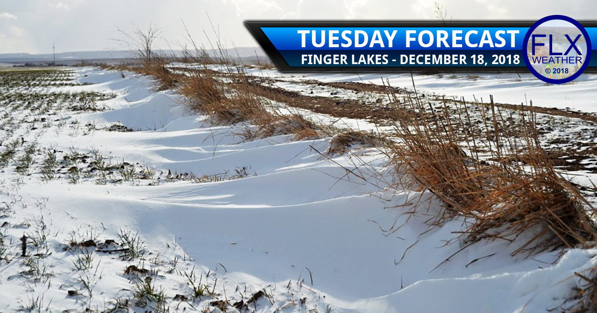 finger lakes weather forecast tuesday december 18 2018 lake effect snow high pressure sunshine warm up