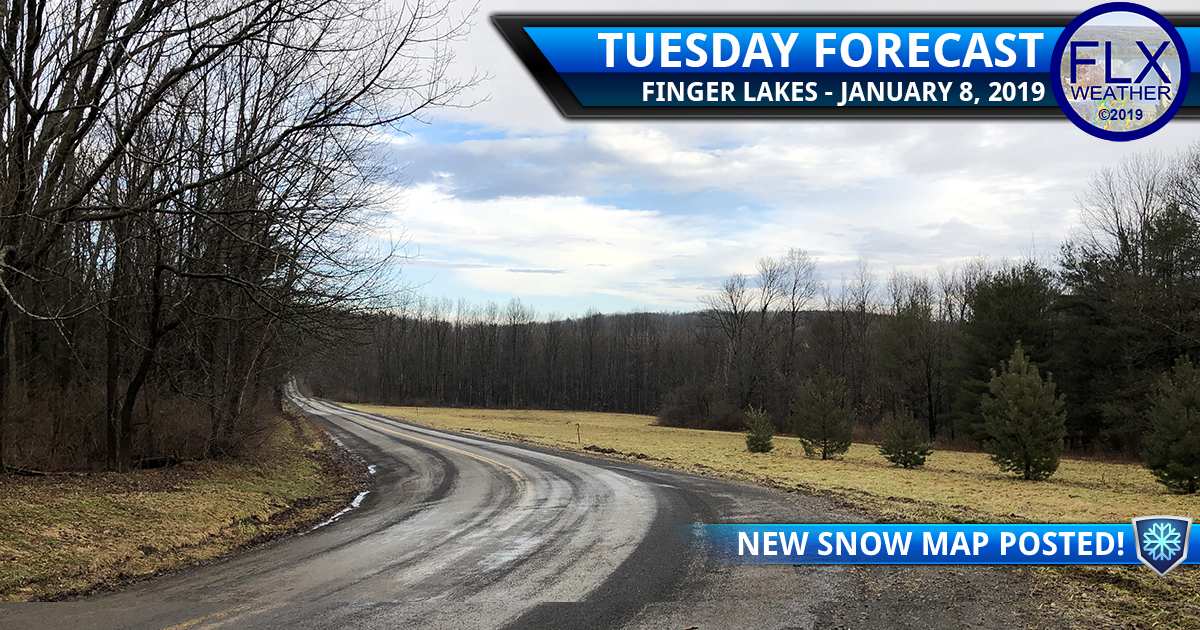 finger lakes weather forecast tuesday january 8 2019 lake effect snow wind