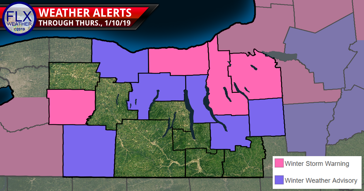 finger lakes weather forecast snow blowing snow winter storm warning winter weather advisory snow map