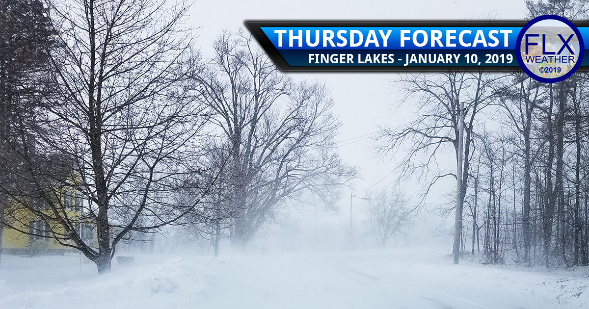 finger lakes weather forecast lake effect snow blowing snow wind gusts poor travel conditions