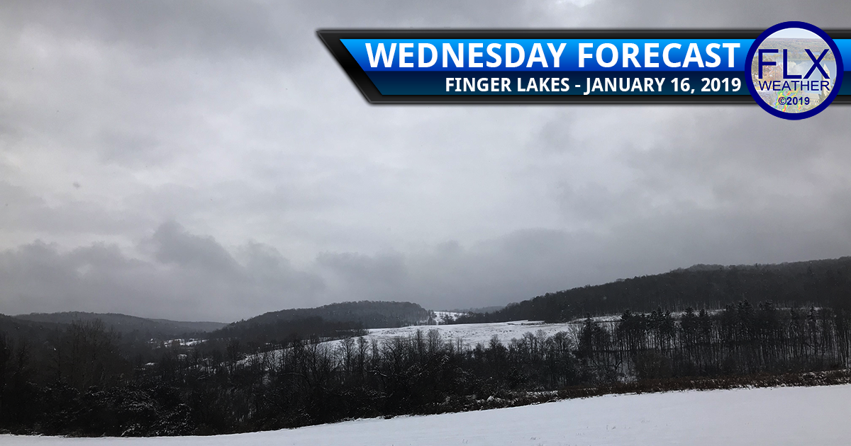 finger lakes weather forecast wednesday january 16 2019 snow showers cold front windy temperatures