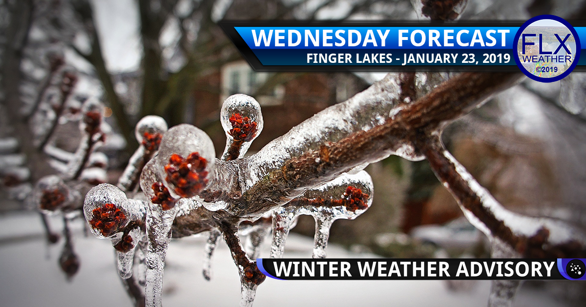 finger lakes weather forecast wednesday january 23 2019 freezing rain ice sleet winter weather advisory rain snow