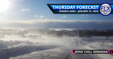 finger lakes weather forecast thursday january 31 2019 wind chill cold wind gust blowing snow