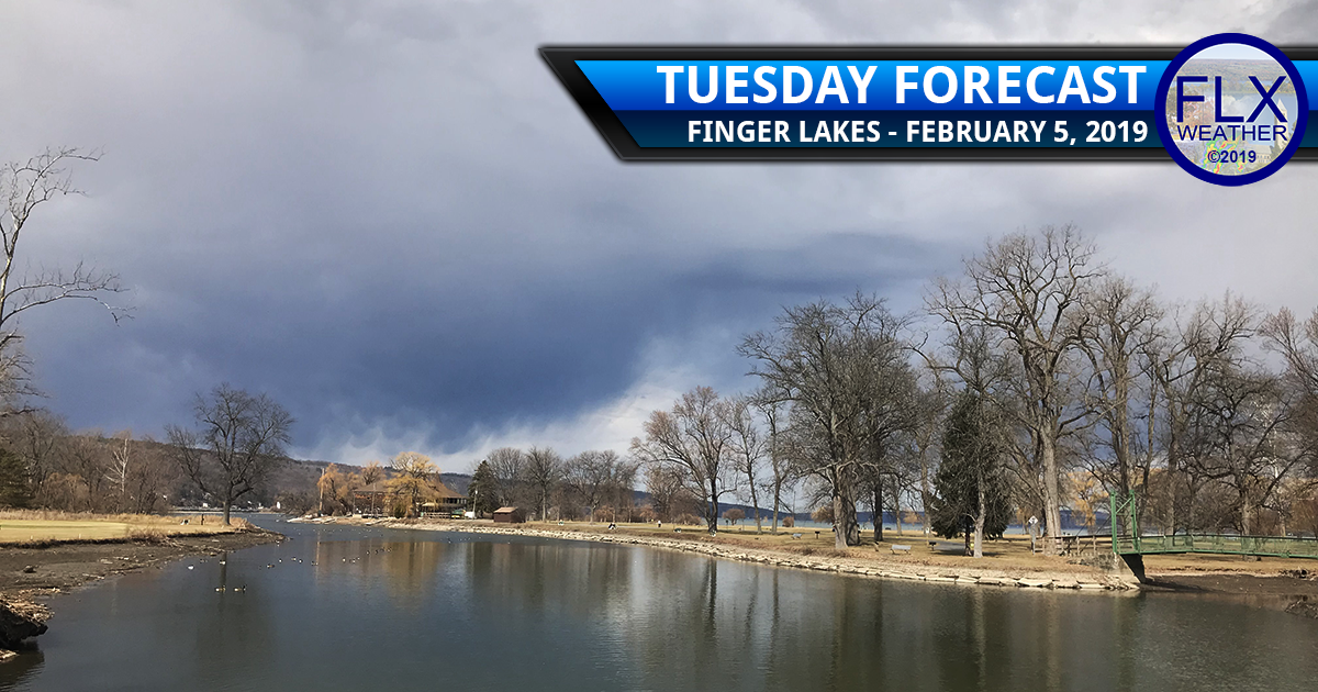 finger lakes weather forecast tuesday february 5 2019 cold front cloudy windy wednesday ice