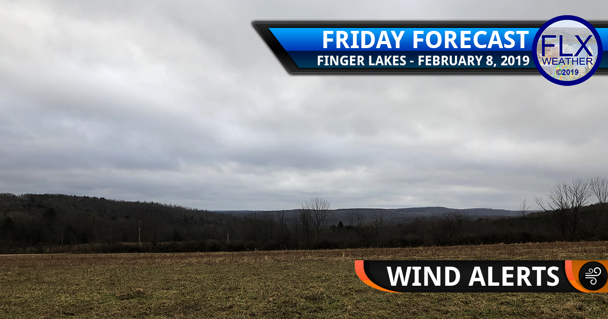 finger lakes weather forecast friday february 8 2019 windy high wind warning wind advisory cold front weekend weather