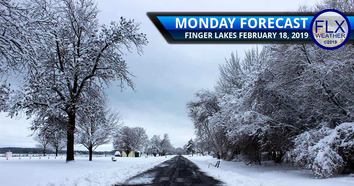 finger lakes weather forecast monday february 18 2019 snow freezing drizzle lake effect wednesday mixed preciptiation