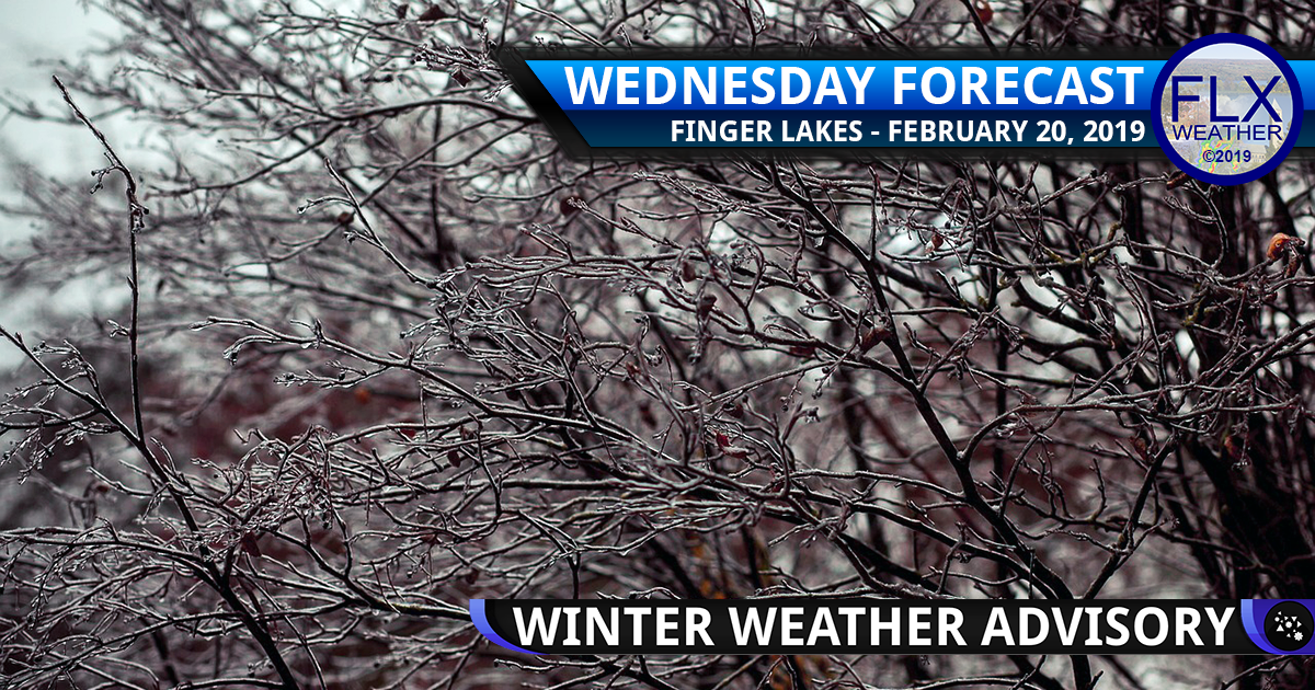 finger lakes weather forecast wednesday february 20 2019 wintry mix ice sleet freezing rain drizzle fog wind weekend weather