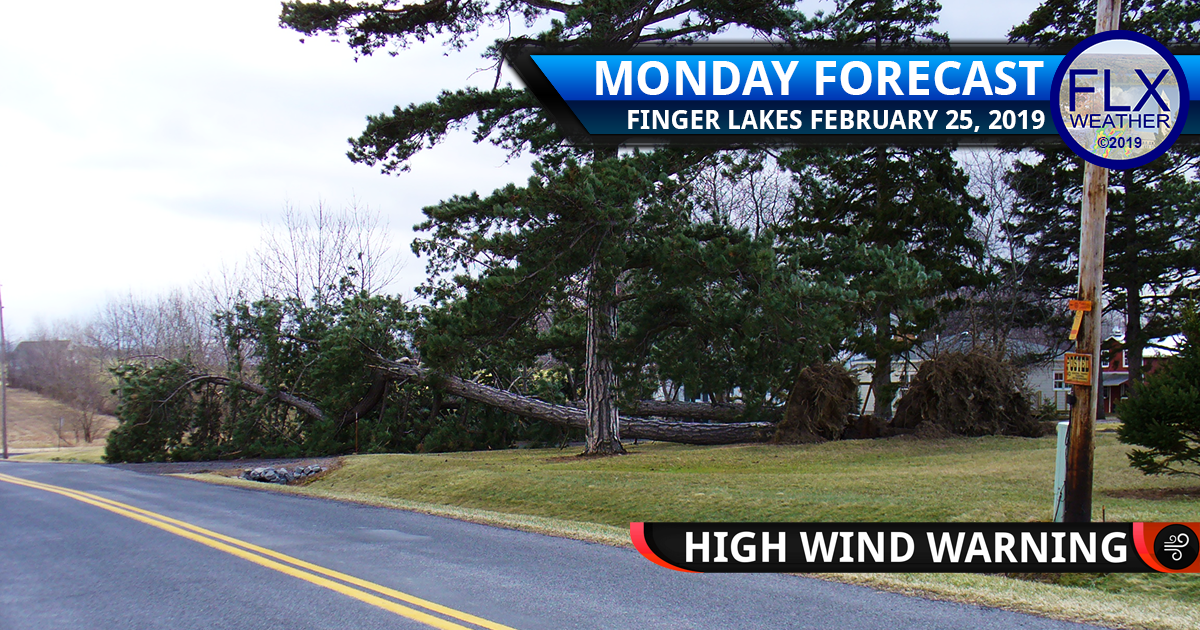 finger lakes weather forecast monday febrary 25 2019 wind storm high wind warning