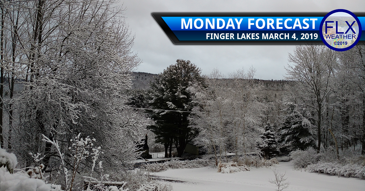 finger lakes weather forecast monday march 4 2019 cold snow lake effect