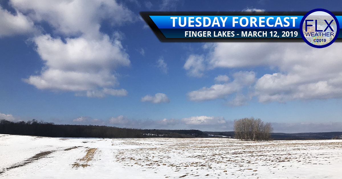 finger lakes weather forecast tuesday march 12 2019 lake effect snow sun warming trend