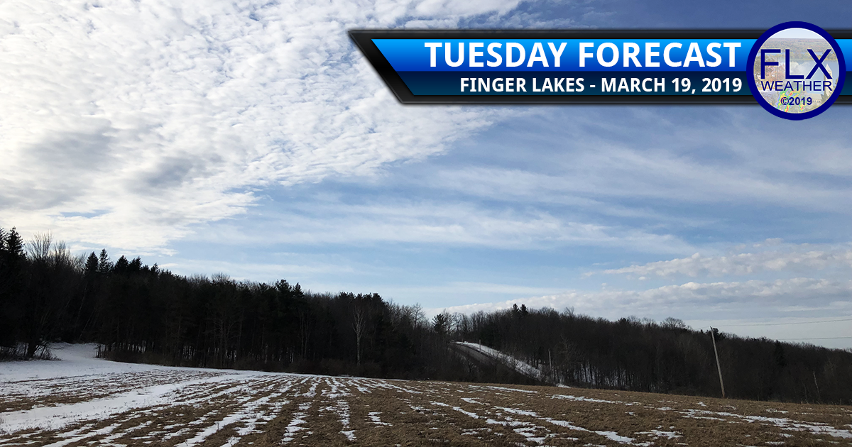 finger lakes weather forecast tuesday march 19 2019 sun snow clouds flurries near normal temperatures