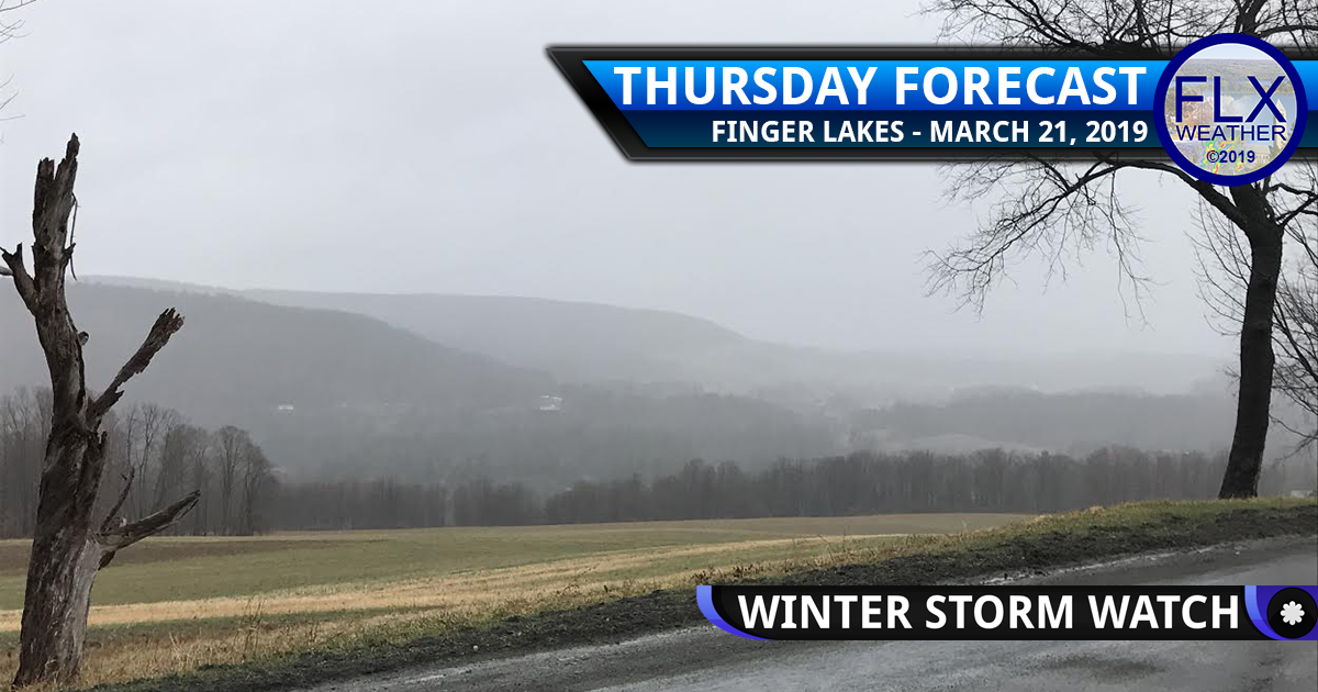 finger lakes weather forecast thursday march 21 2019 no hype winter storm watch snow rain