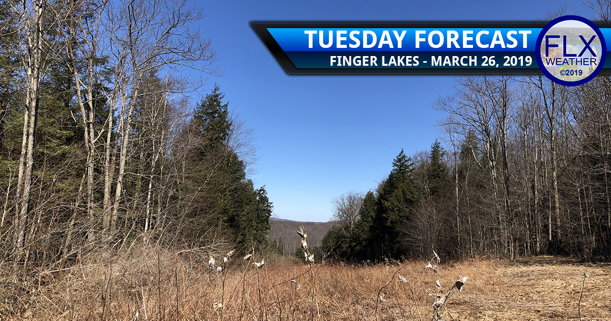 finger lakes weather forecast tuesday march 26 2019 sunny cool warming up active late week weather