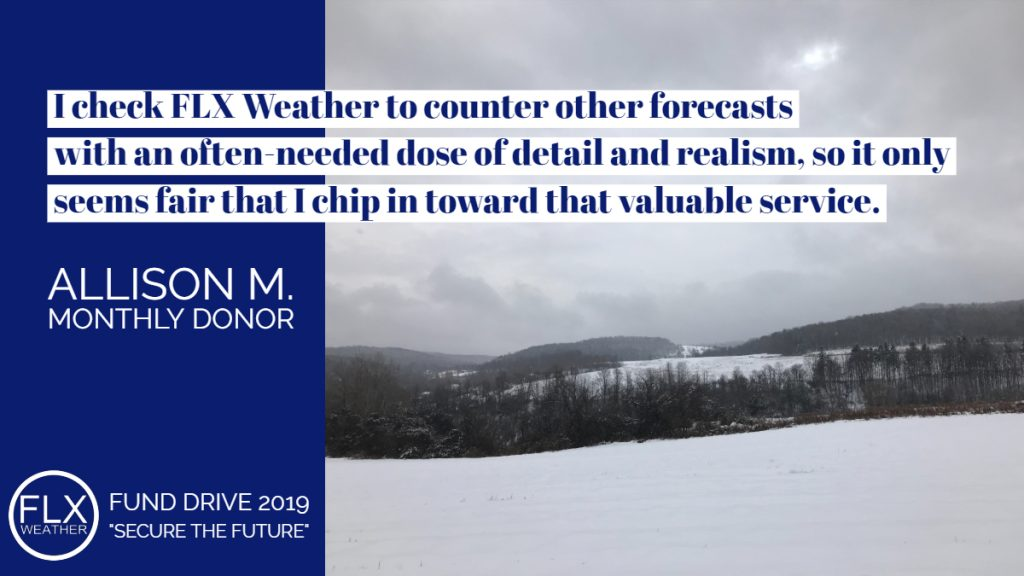 finger lakes weather no hype forecasting fund drive 2019