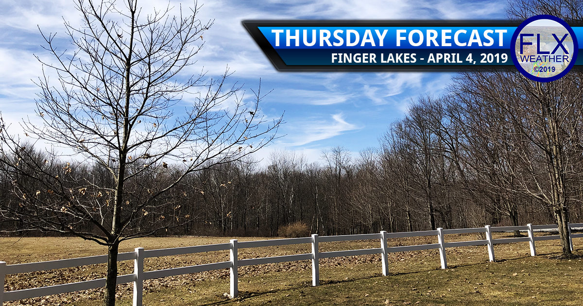 finger lakes weather forecast thursday april 4 2019 sun clouds brush fires cool windy