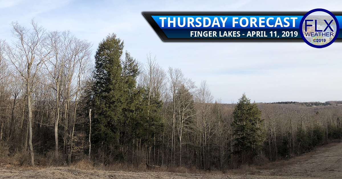 finger lakes weather forecast thursday april 11 2019 clouds rain warm front temperatures weekend weather