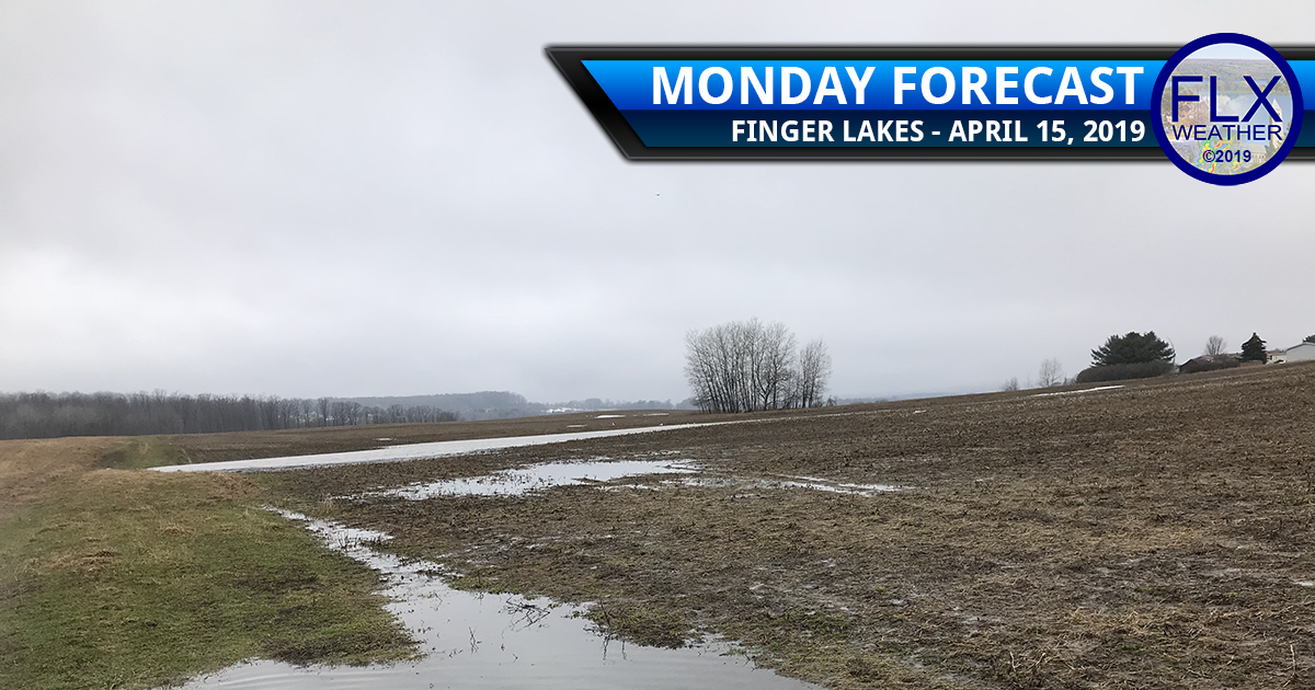 finger lakes weather forecast Monday april 15 2019 rain snow cold wind gusts weekly outlook
