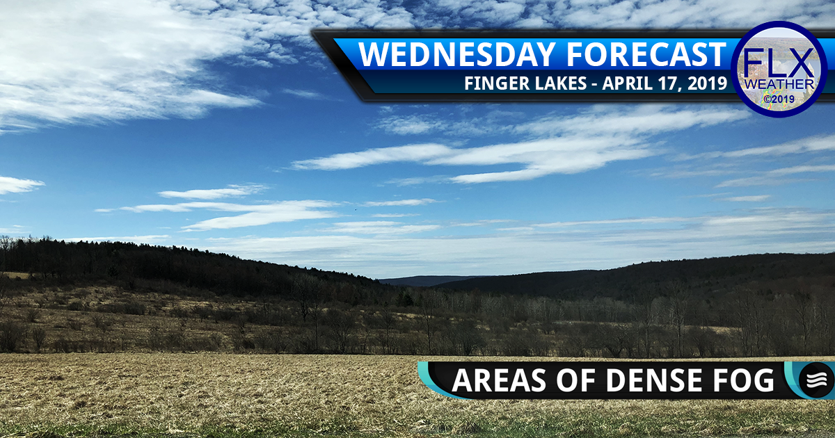 finger lakes weather forecast wednesday april 17 2019 morning fog sunny nice weather