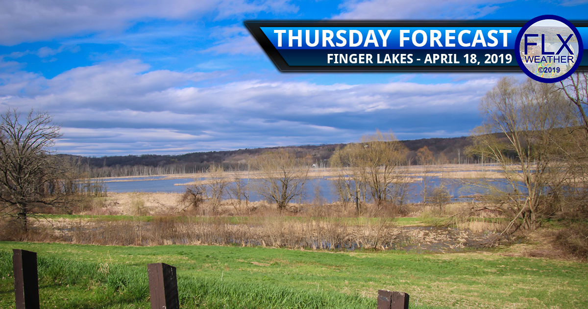 finger lakes weather forecast thursday april 18 2019 sun clouds rain wind warm above normal temperatures