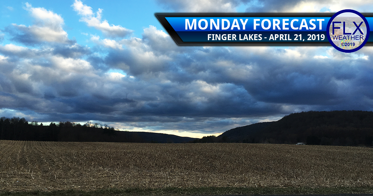 finger lakes weather forecast monday april 22 2019 cloudy near normal temperatures wind rain weekly outlook
