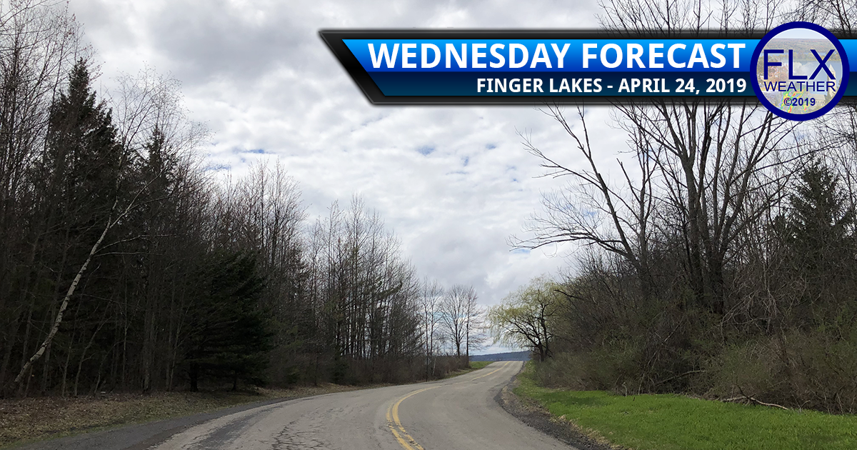 finger lakes weather forecast wednesday april 24 2019 cloudy breezy cool sun below normal temperatures drizzle