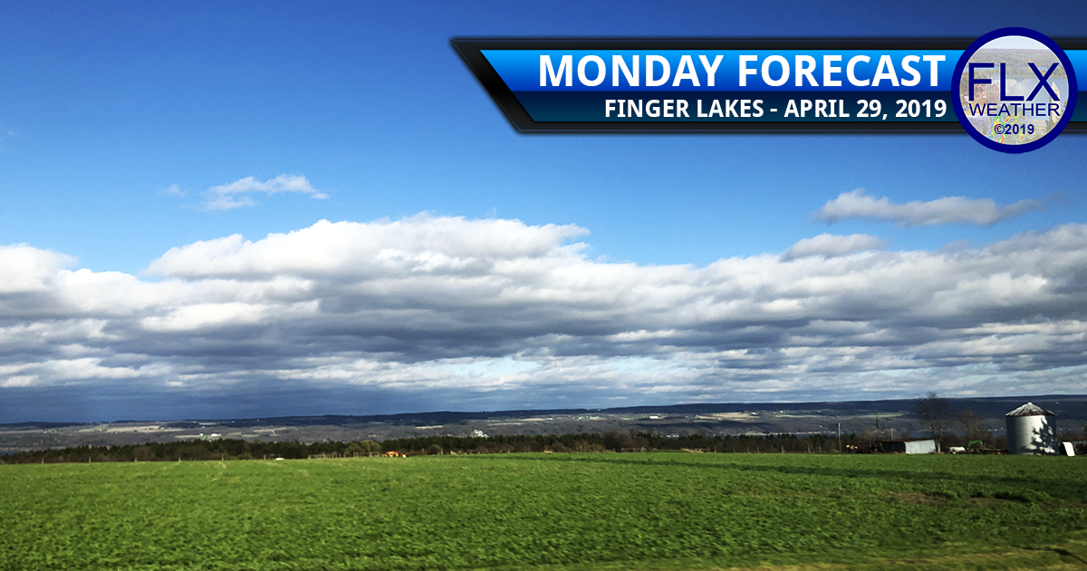 finger lakes weather forecast monday april 29 2019 frost freeze temperatures sunshine clouds rain active weather week