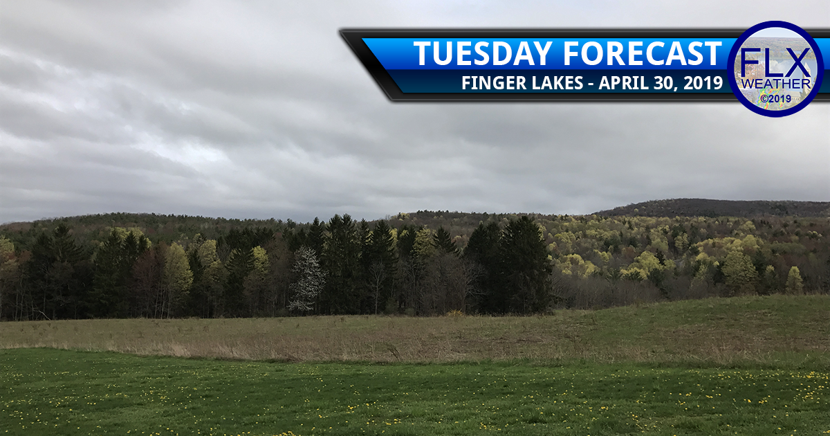 finger lakes weather forecast tuesday april 30 2019 cloudy cool rain thunderstorms warm front